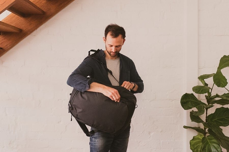 My current travel bag of choice - the Peak Design Travel Backpack