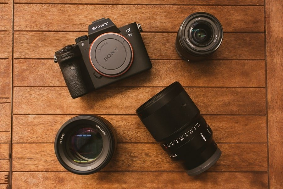 e mount lenses for full-frame