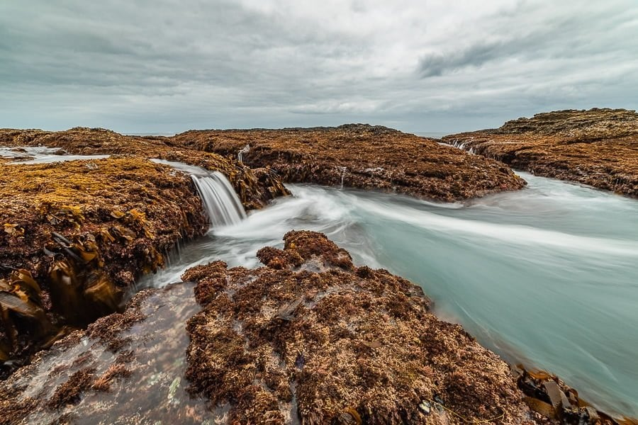 How to do long exposure photography tidepools