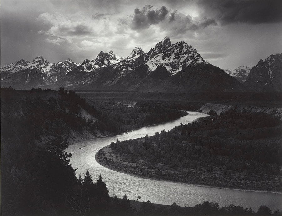 Ansel Adams large format american west - best photographers