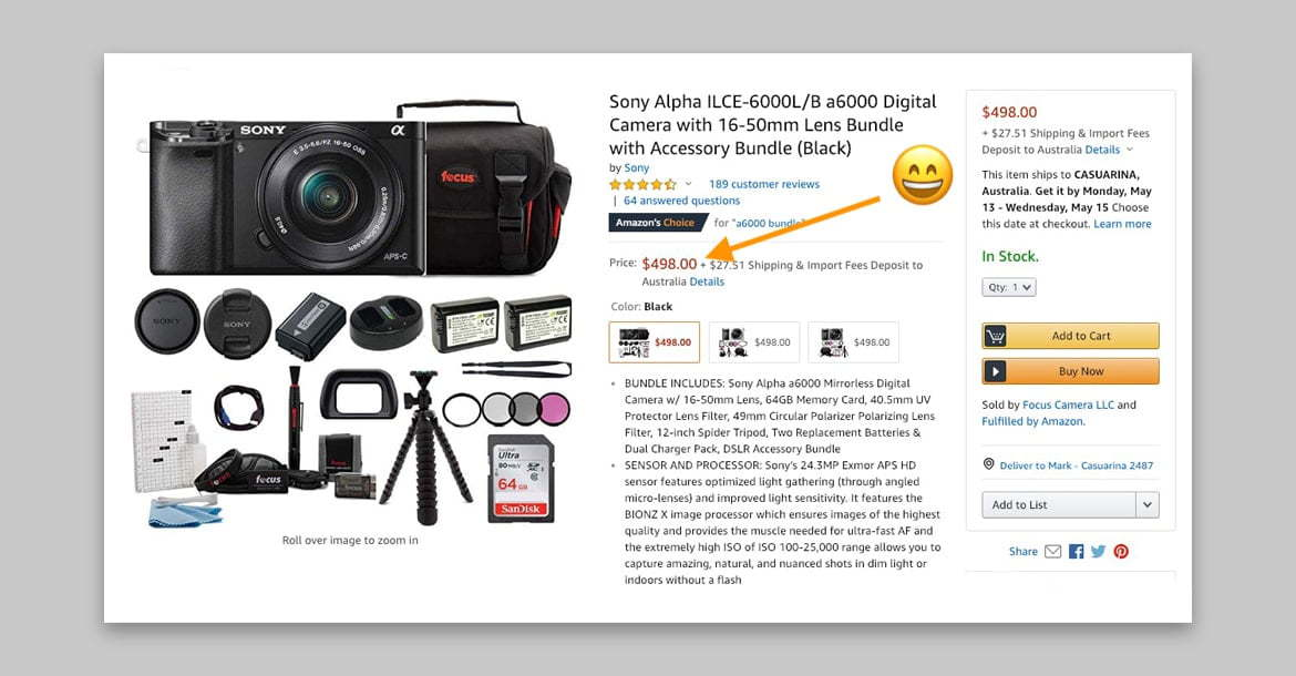 Recommended Sony a6000 bundle