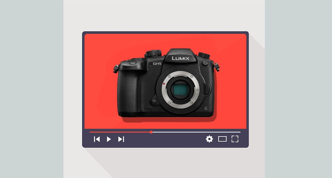 panasonic gh5 for youtube