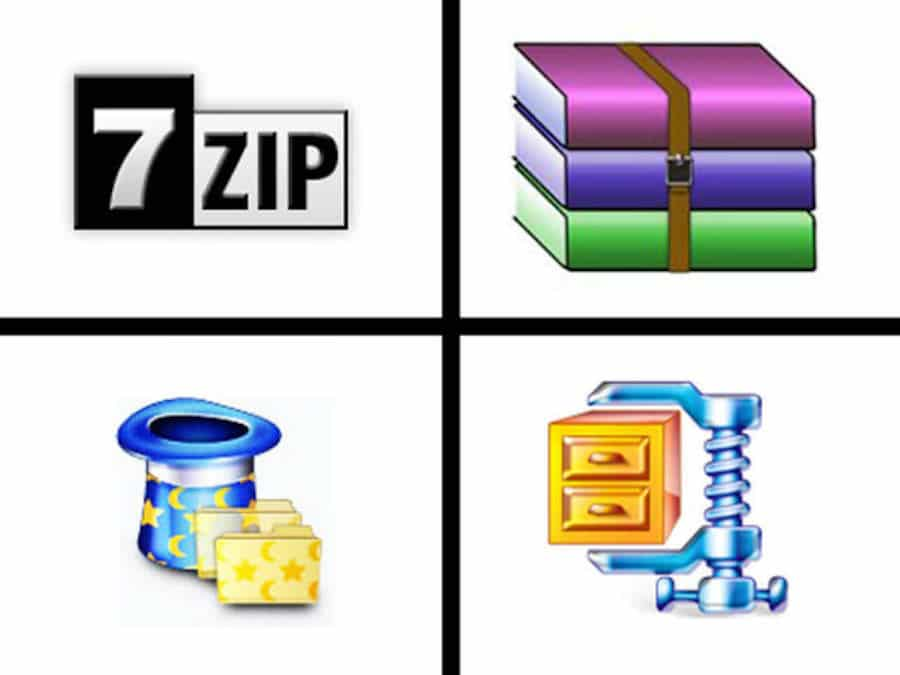 zipped or compressed images