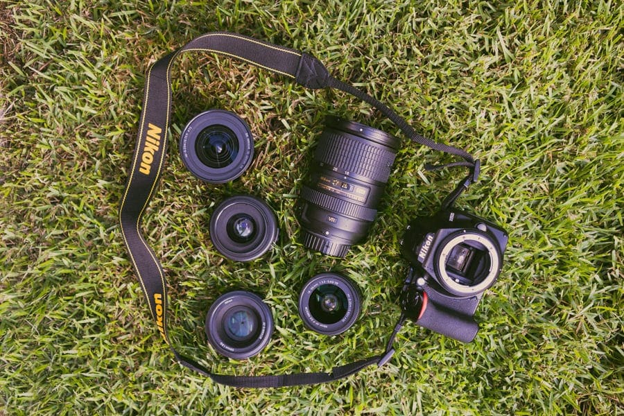 nikon d3200 lens options