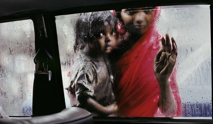 Steve McCurry documentary photographer / portrait photographer national geographic