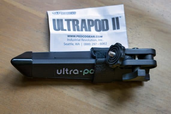 The Ultrapod II is remarkably compact