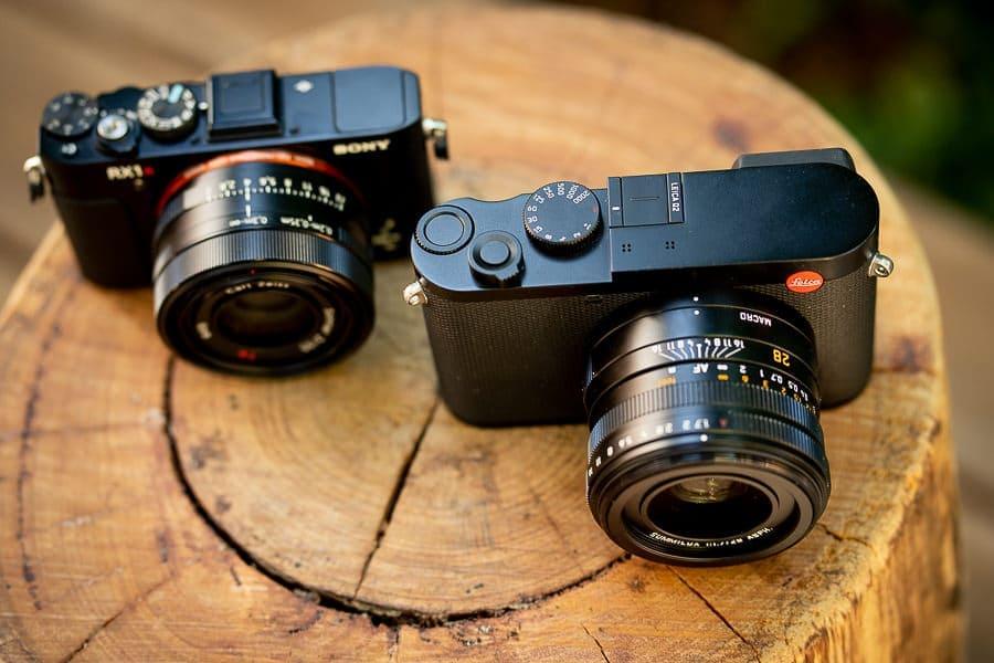Leica Q2 vs Sony RX1 II
