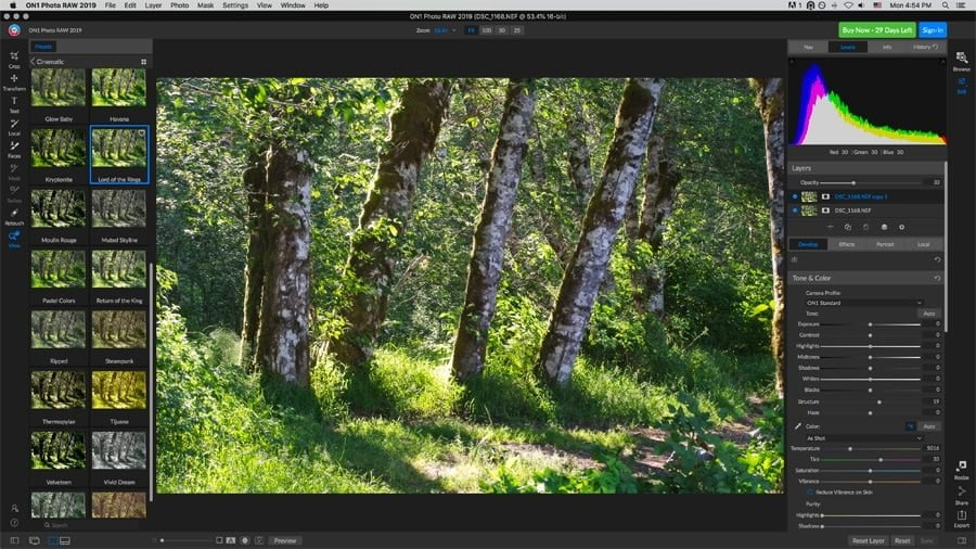 On1 Photo Raw 2019 photo editor