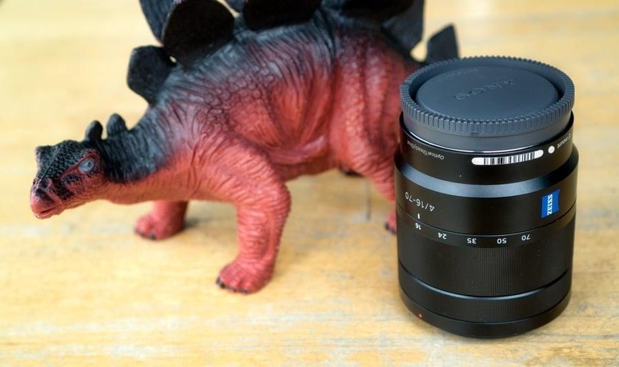 The Sony 16-70mm kit lens