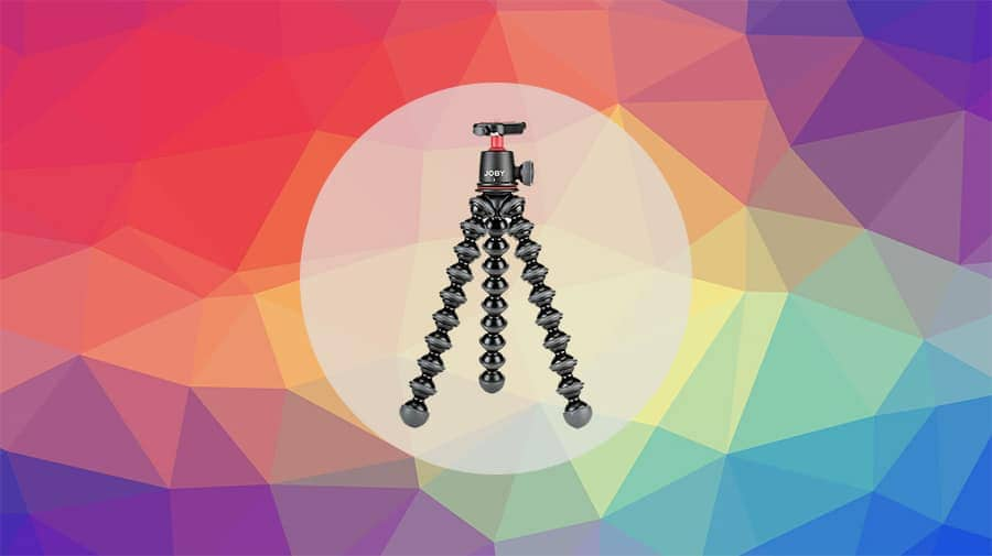 Gorillapod mini tripods with ball head and good load capacity