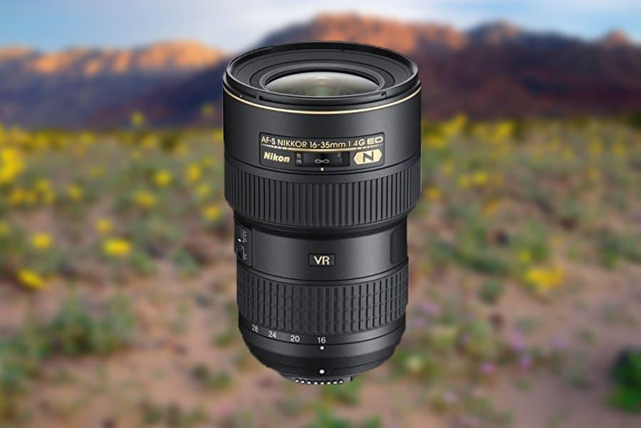 Nikkor 16-35mm f/4 VR Best Nikon Landscape Photography Lens