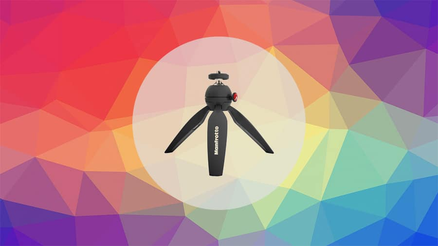 manfrotto pixi mini tripods with good load capacity