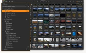 capture one catalogs and sessions