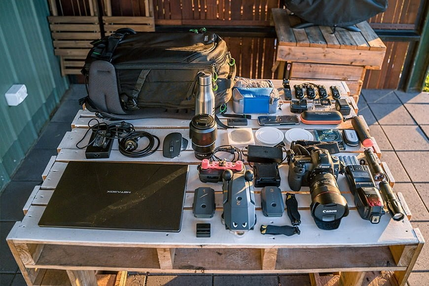 The Mindshift First Light 30L can handle almost everything you stuff in to it