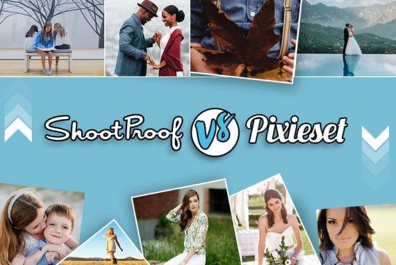 ShootProof vs Pixieset