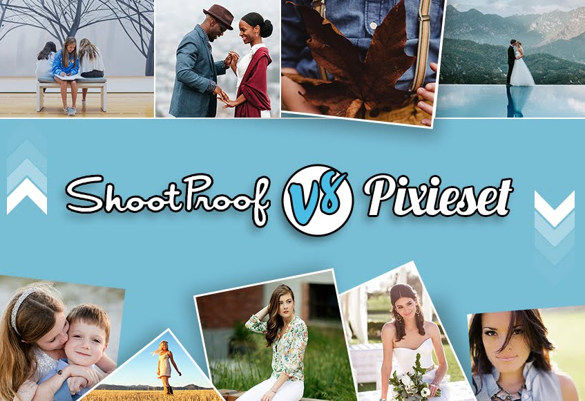 ShootProof vs Pixieset