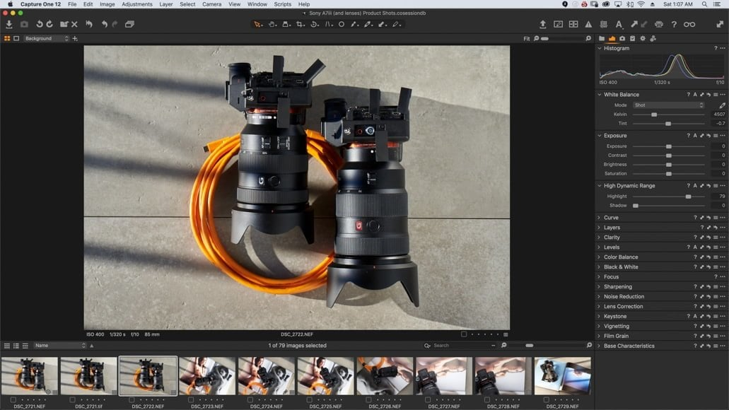 switch from lightroom to capture one