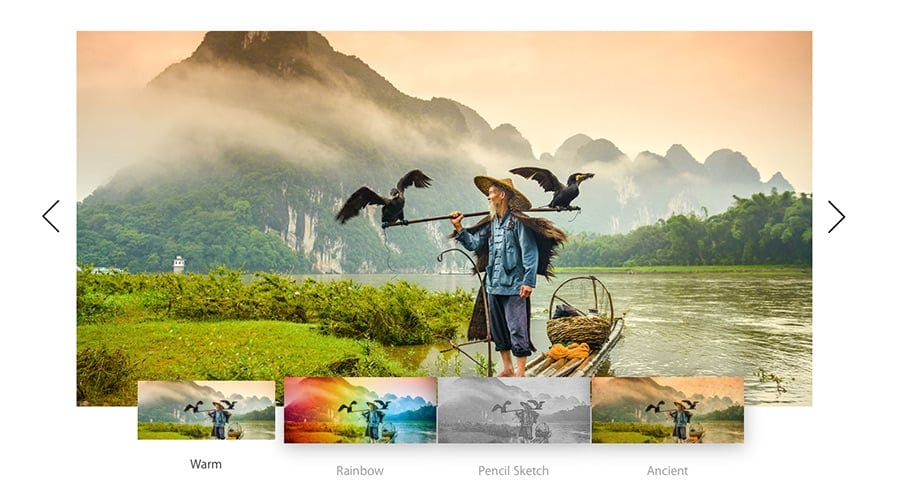 Screenshot of FX Photo Studio Plugin