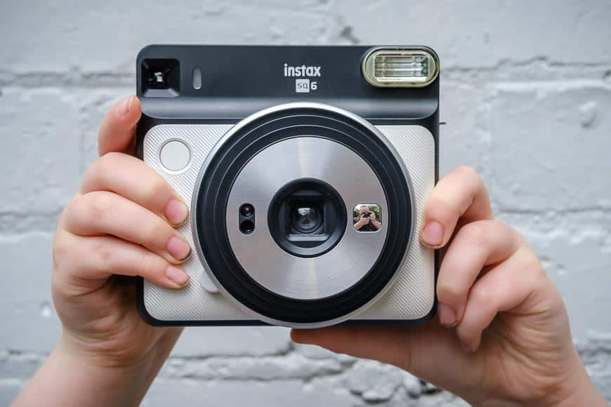 Front of the Fujifilm Instax SQ6