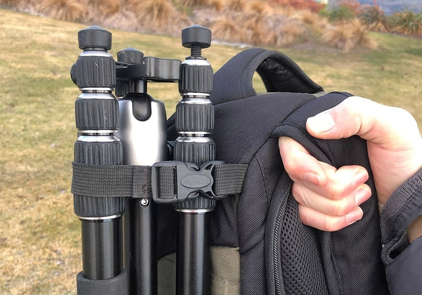 review of the manfrotto element tripod