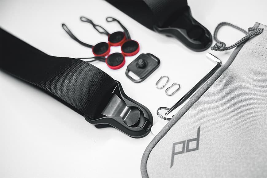 The Peak Design Slide Lite review - the slide lite peak design camera strap seems to come with a full hobby kit