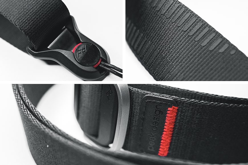 The Peak Design Slide Lite is a high quality and well built strap