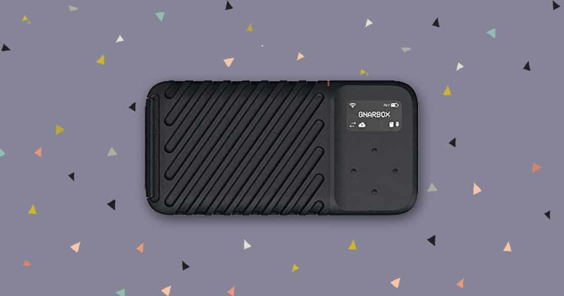 GNARBOX 2.0 SSD - great gift idea