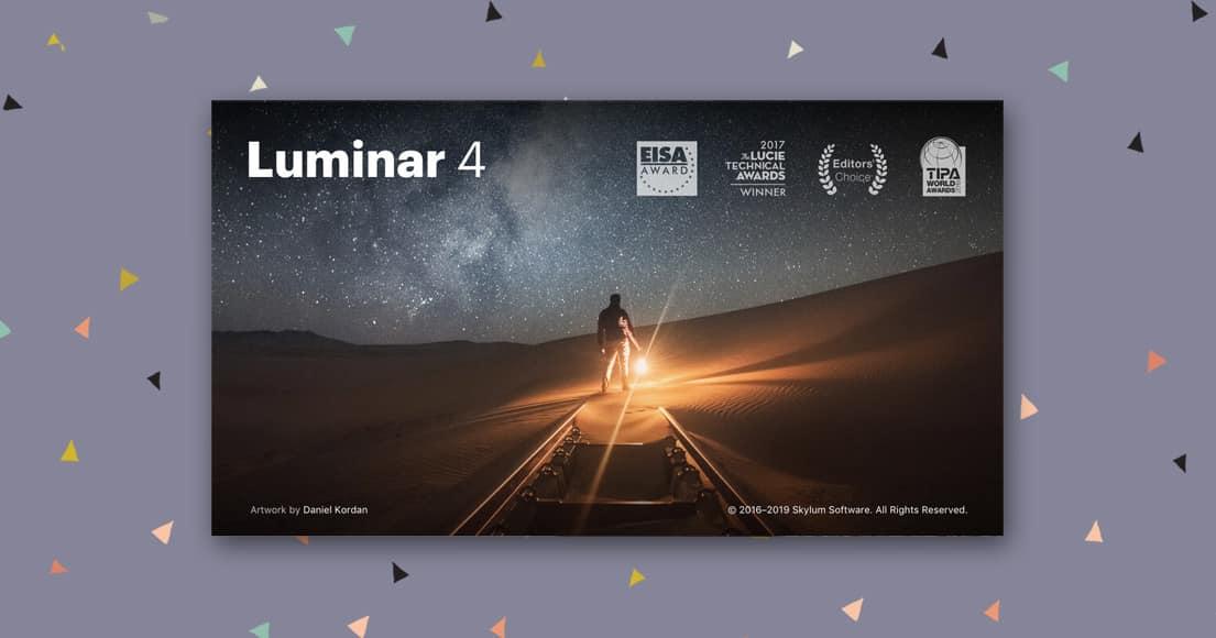 Luminar 4 - great gift idea