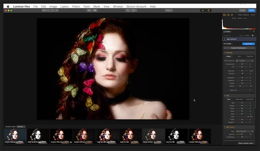 luminar flex photoshop plugin