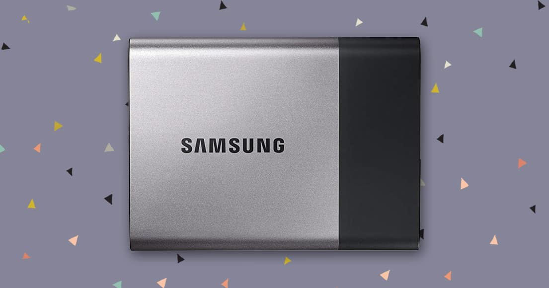 Samsung T3 Portable hard drive