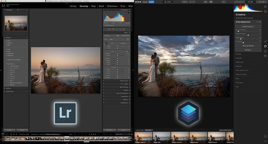 Luminar vs Lightroom (v4 released 2019)