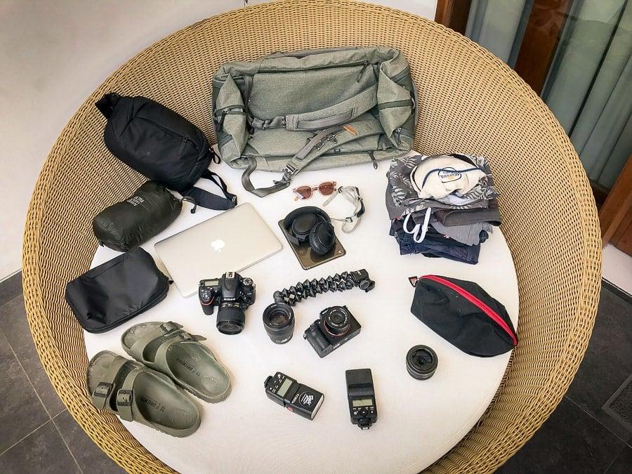 storage capacity duffelpack