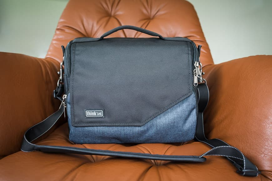 Think Tank Mirrorless Mover review - square-view-bag