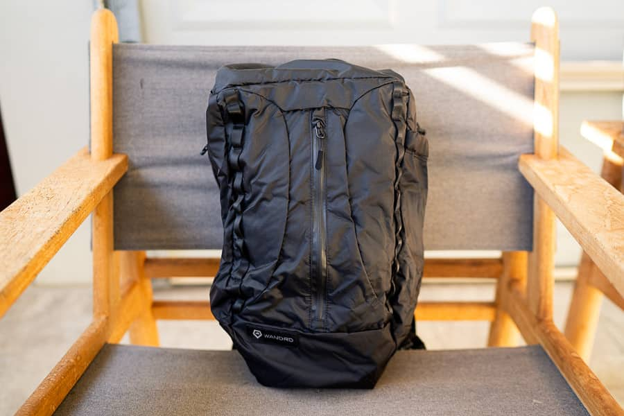 In blue or black, the VEER is a great looking backpack.