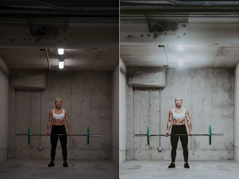 photos of woman weightlifter