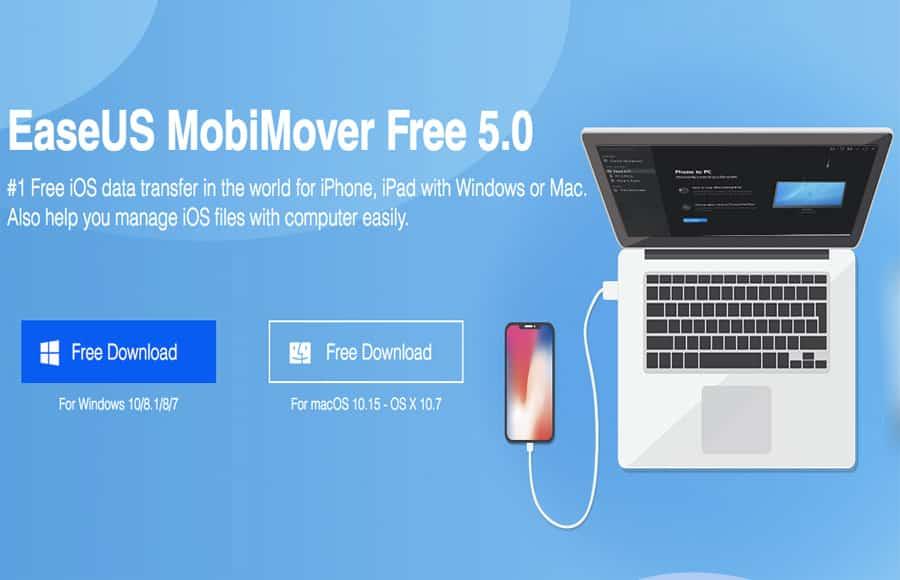 Mobimover free file transfer