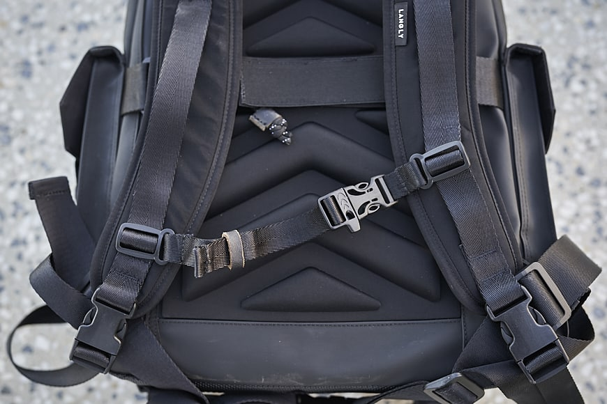 langly globetrotter padded straps