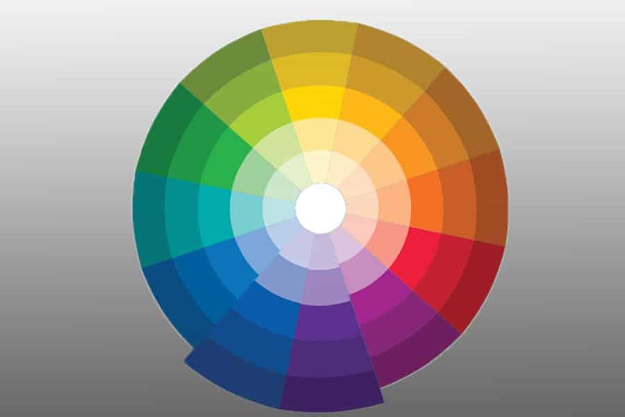 Analogous colour harmony