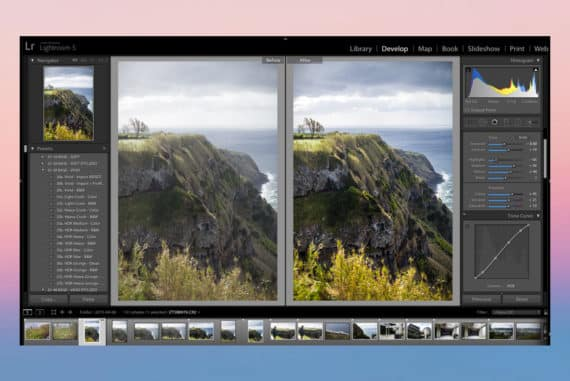 fundamental photo editing steps