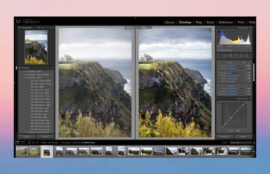 fundamental photo editing steps