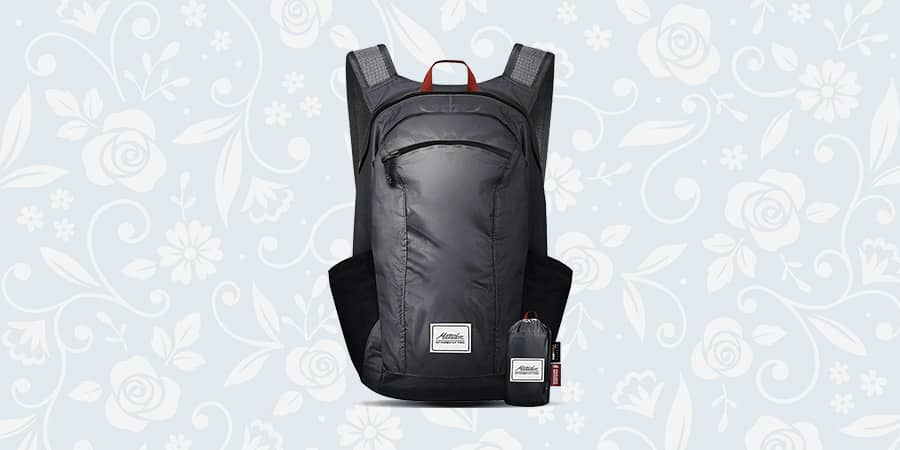 Matador DL16 best stuff sack with YKK zippers, ripstop nylon and ample main compartment to carry or store loads