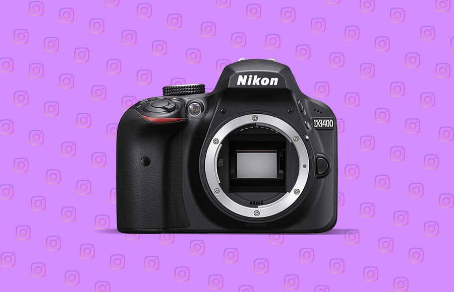Nikon D3400 - beats canon eos. best camera for beginners. Good LCD screen, no 4k video, not an action camera but better than best smartphone to take photos.