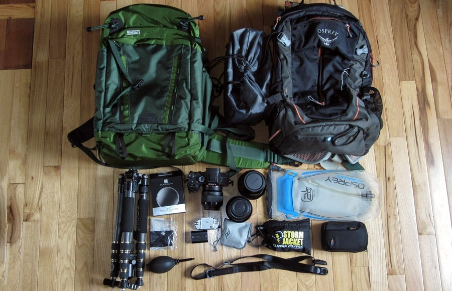 best camera gear for hiking and backpacking