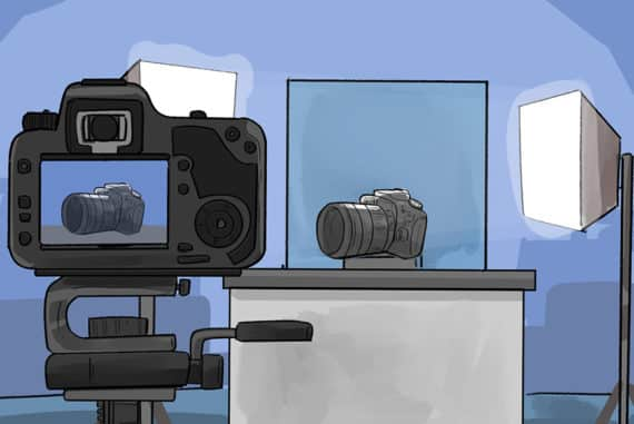 best camera product photography