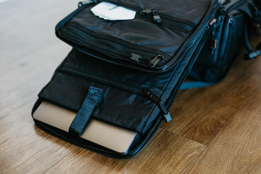 langly alpha compact laptop sleeve