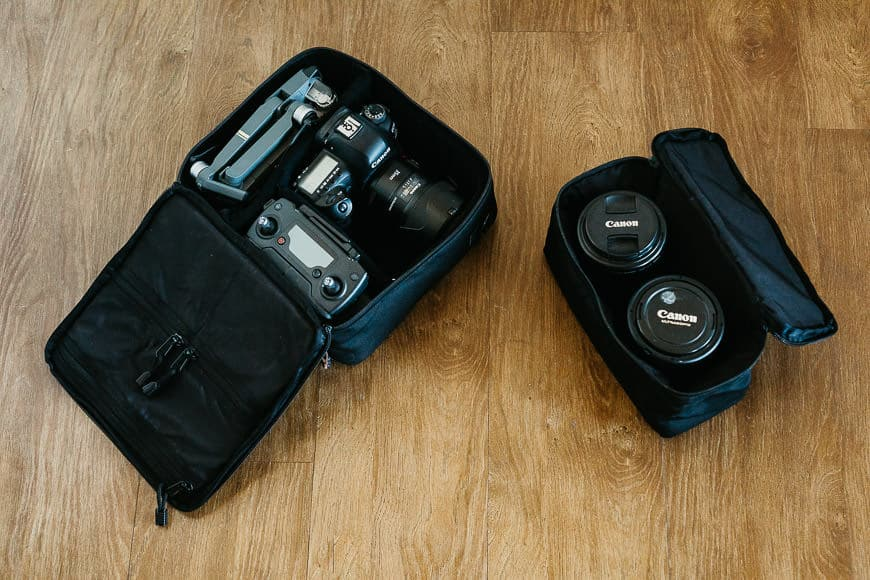 langly alpha compact camera and accessory cubes