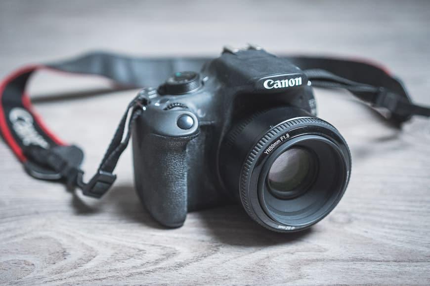 Yongnuo YN 50mm f/1.8 lens review