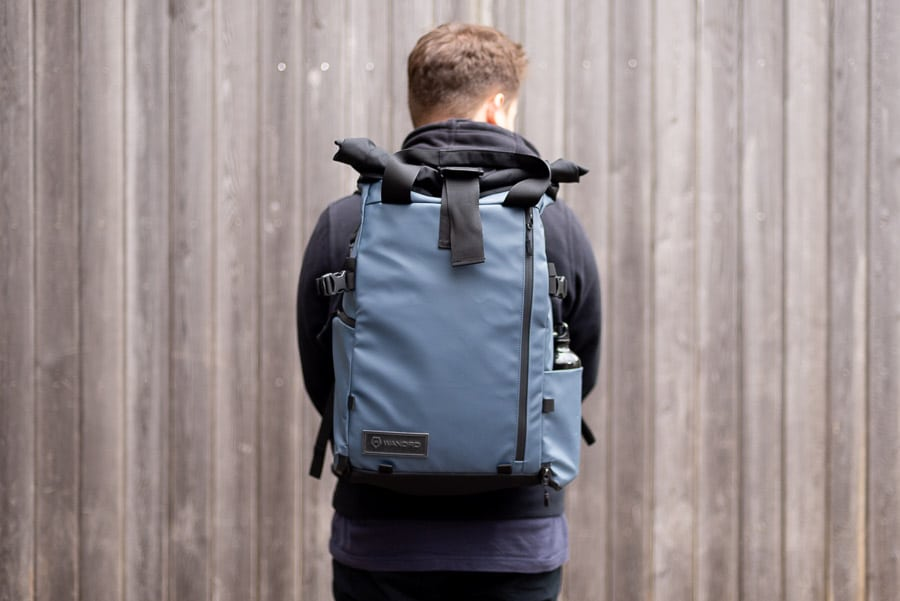 Camera backpack Wandrd Prvke best backpack with laptop compartment