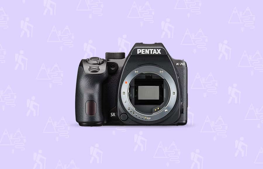 Pentax best camera hiking and backpacking