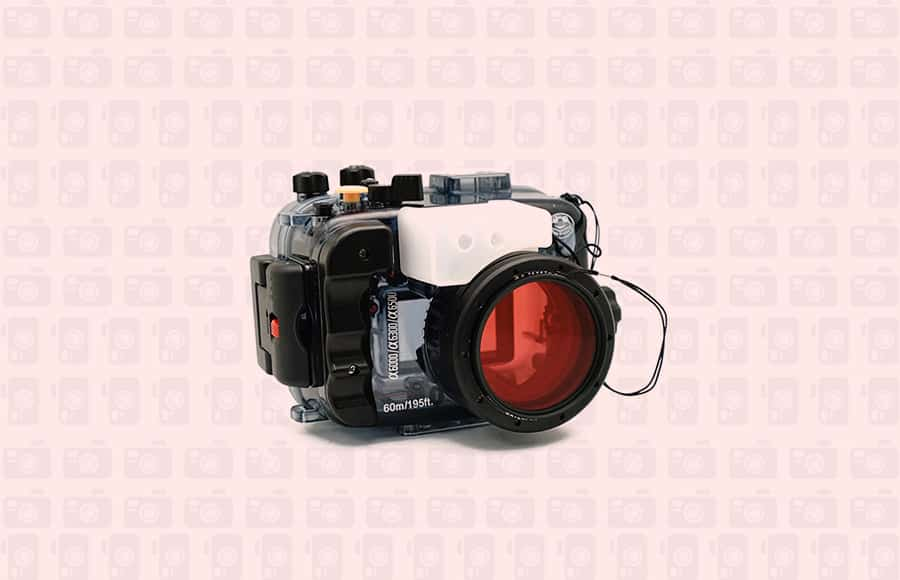 underwater housing for sony a6300 6500 and 6000